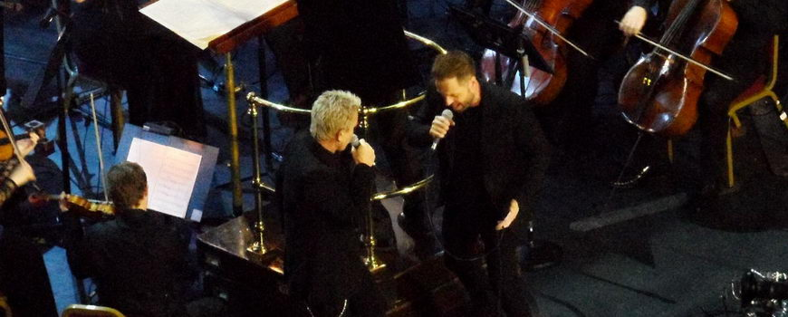 Billy Idol und Alfie Boe